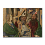Reproduction Painting Madonna and Child enthroned, angels and saints 51924