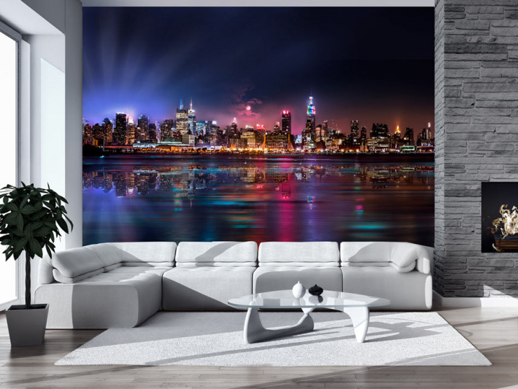 Wall Mural Romantic Moments In New York City New York Cities And Architecture Wall Murals