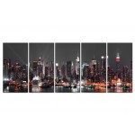 Print On Glass Glow in New York  [Glass] 104934 additionalThumb 2