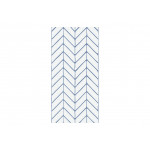 Papier peint design Big Harmony of Patterns (Blue) 122634 additionalThumb 1