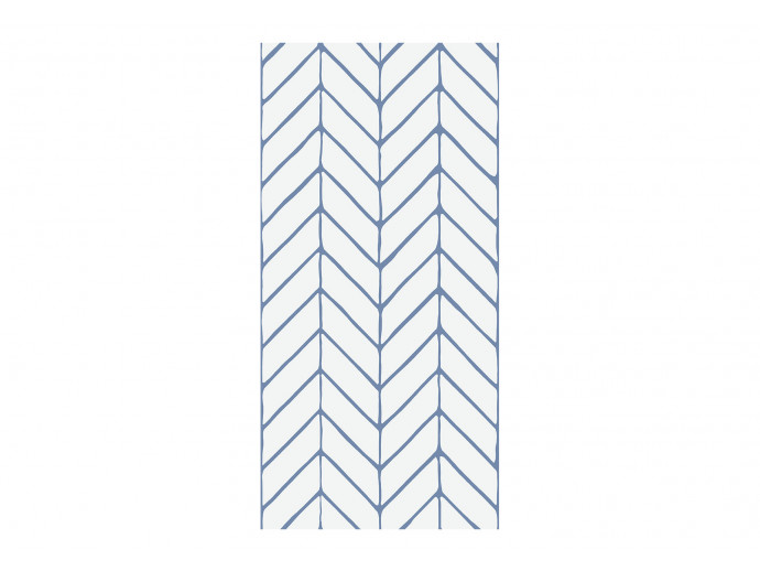 Modern Wallpaper Big Harmony of Patterns (Blue) 122634 additionalImage 1