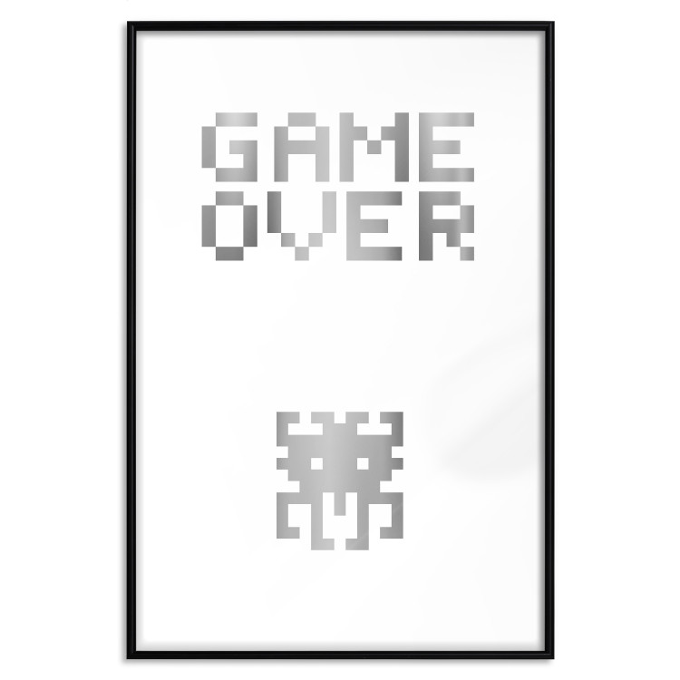 Game over [Deco Poster - Silver]