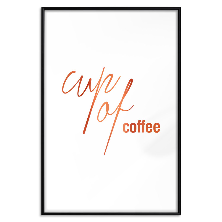 Cup of Coffee [Deco Poster - Copper]