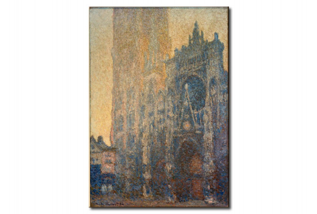 Reprodukcja The Cathedral of Rouen, the portal, morning mood 54634
