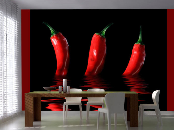 Wall Mural Chili pepper 59834
