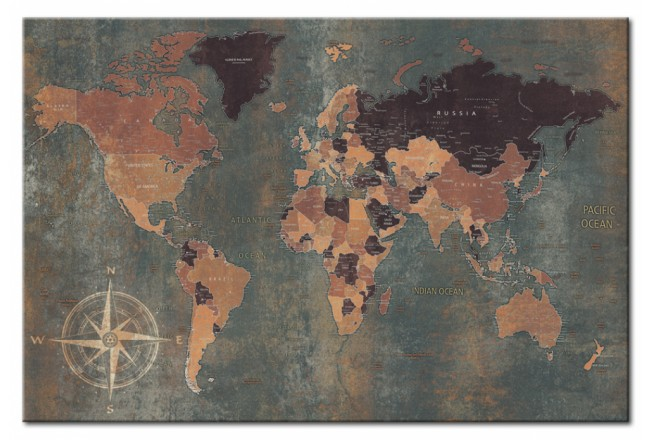 Cork Pinboard Mysterious World [Cork Map] 96034 additionalImage 1
