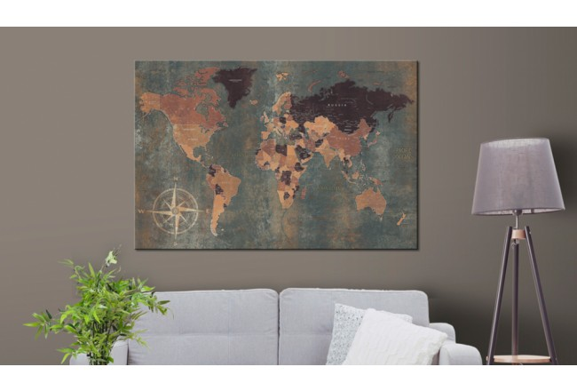 Cork Pinboard Mysterious World [Cork Map] 96034 additionalImage 2