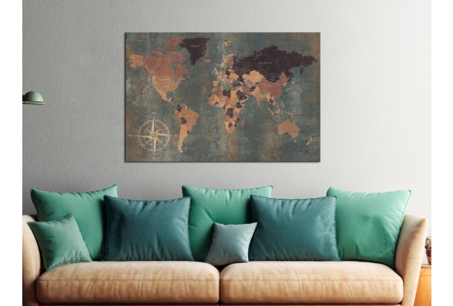 Cork Pinboard Mysterious World [Cork Map] 96034 additionalImage 3