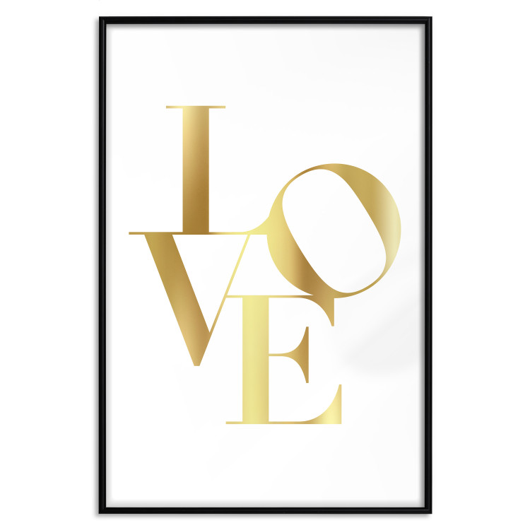 Twisted Love [Deco Poster - Gold]