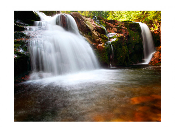 Photo Wallpaper Small Elbe waterfall 60044 additionalImage 1