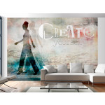Fotomural decorativo Create yourself 61254