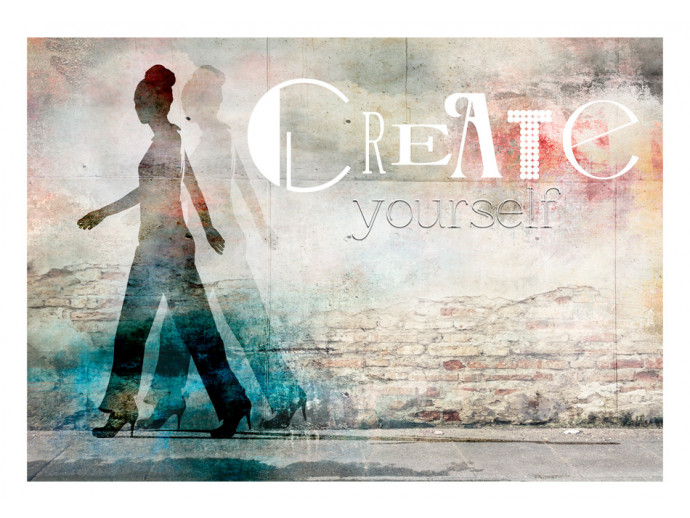 Fotomural decorativo Create yourself 61254 additionalImage 1