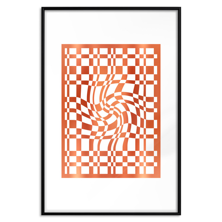 Distorted Chessboard [Deco Poster - Holographic]