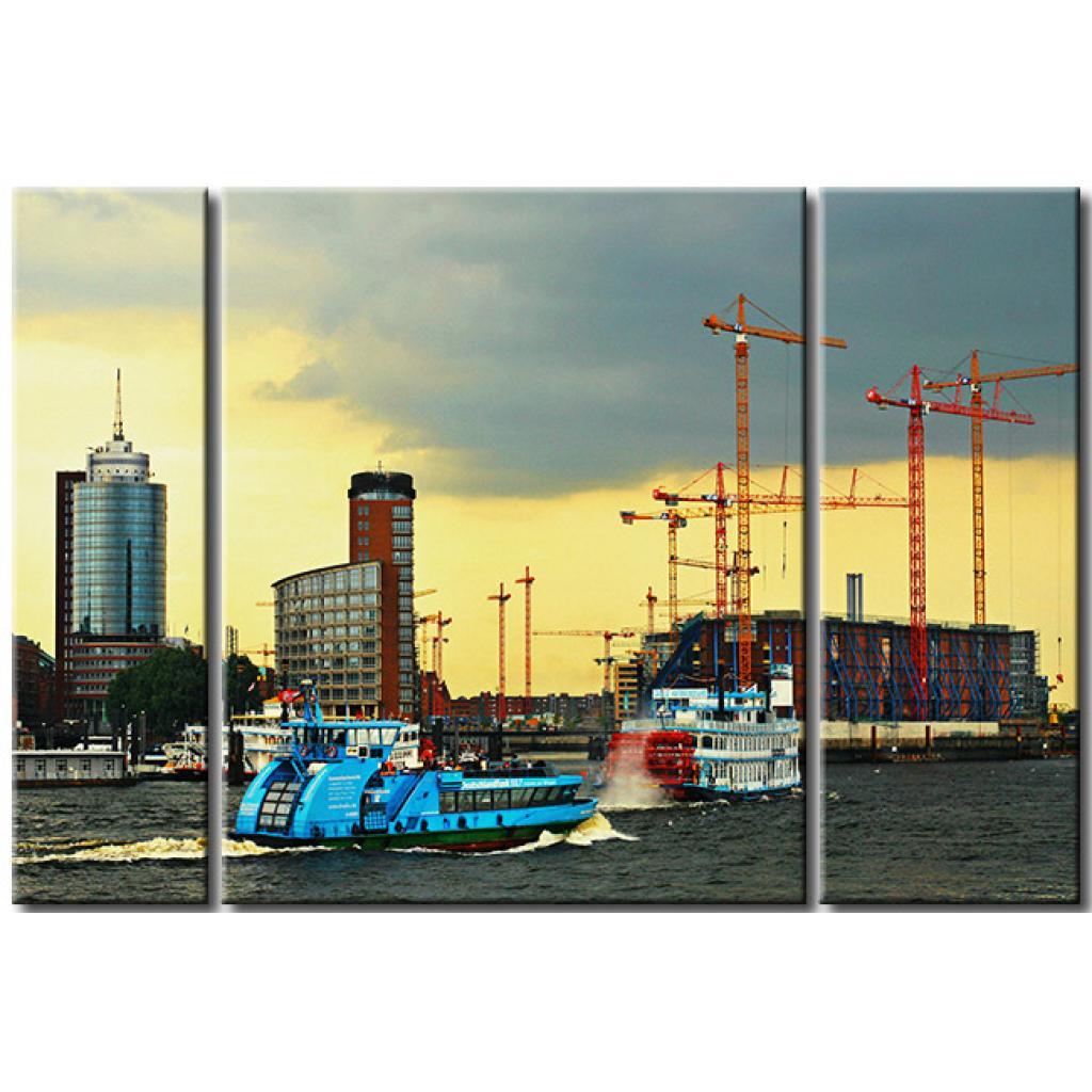 Hamburgo  puerto de St. Pauli Reeperbahn  XXL