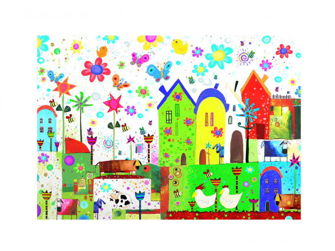 Wall Mural Happy farm 61184 additionalImage 1
