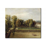 Riproduzione View of the Luxembourg Gardens in Paris 111094