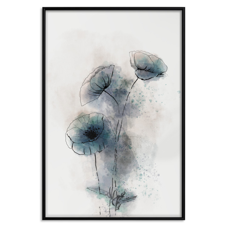 Blue Poppies [Poster]