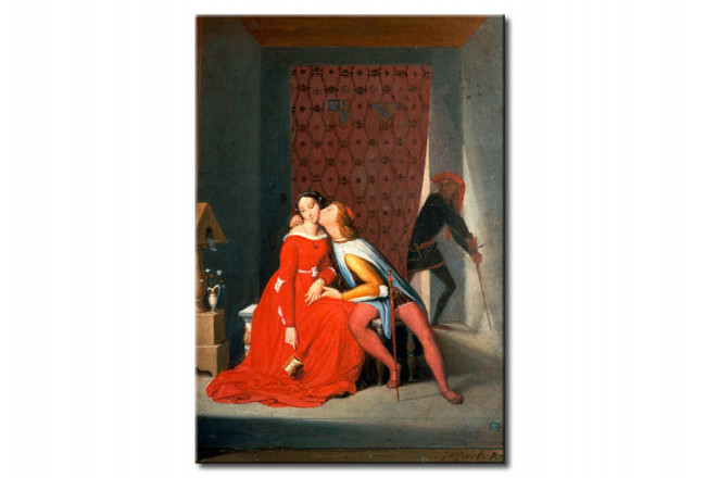 Reproduction Painting Paolo and Francesca, surprised by Gianciotto 51794