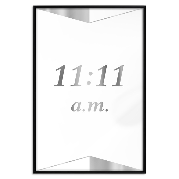 Unusual Time [Deco Poster - Silver]