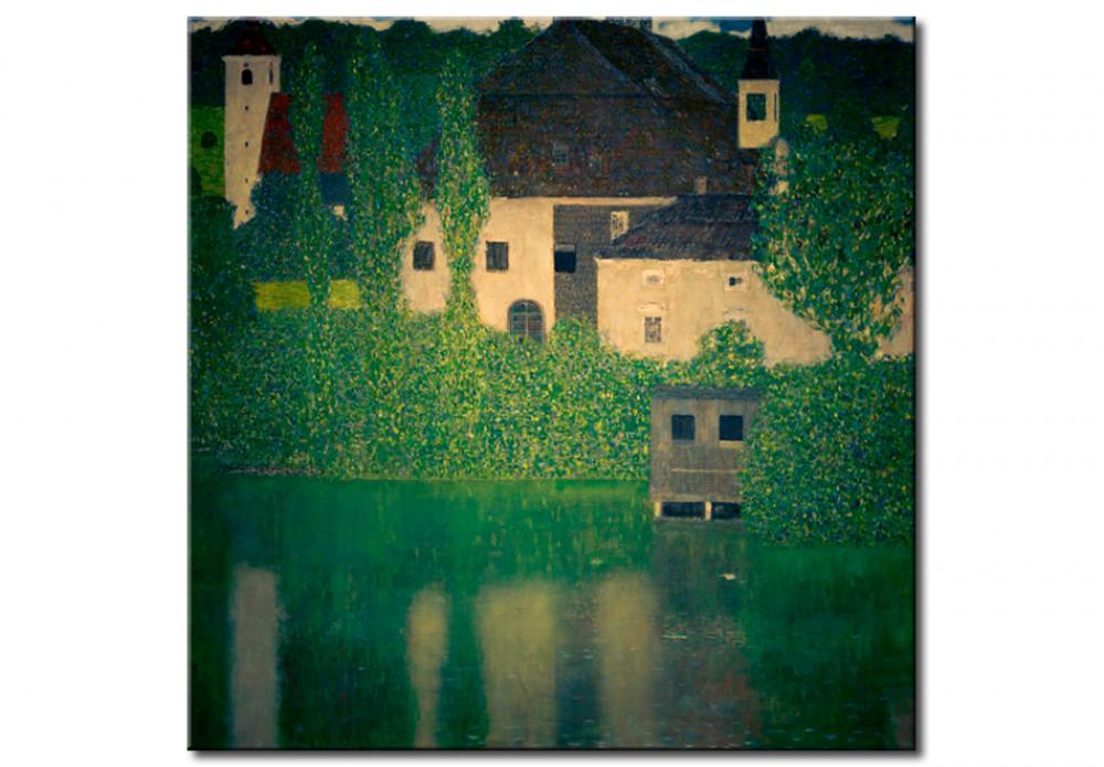 Art Reproduction G Klimt Schloß Kammer Am Attersee I Gustav Klimt Reproductions