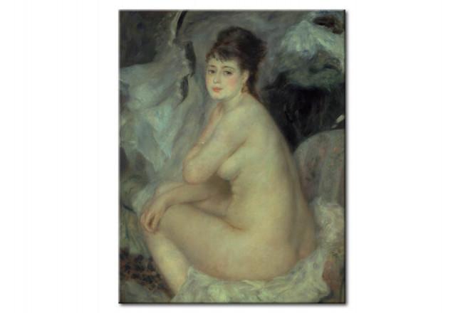 Reproducción De Cuadro Mujer Desnuda