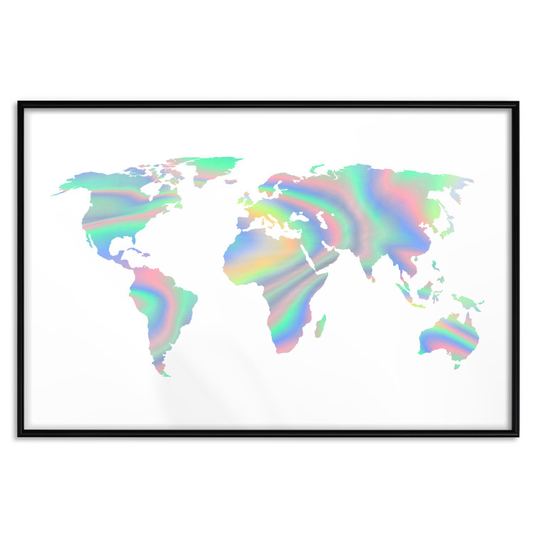 Continents [Deco Poster - Holographic]