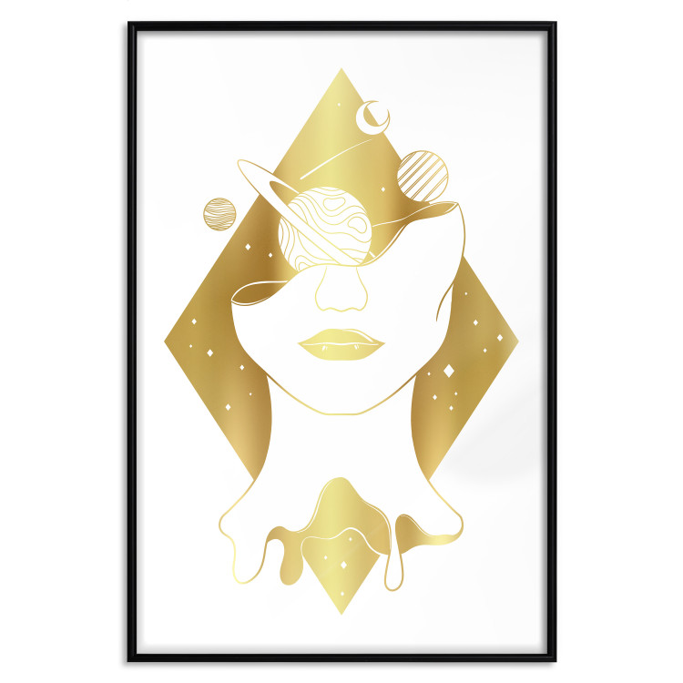Cosmos in the Head [Deco Poster - Gold]
