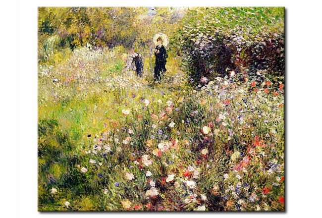 Quadro famoso Paesaggio d\'estate - Pierre-Auguste Renoir - Quadri famosi