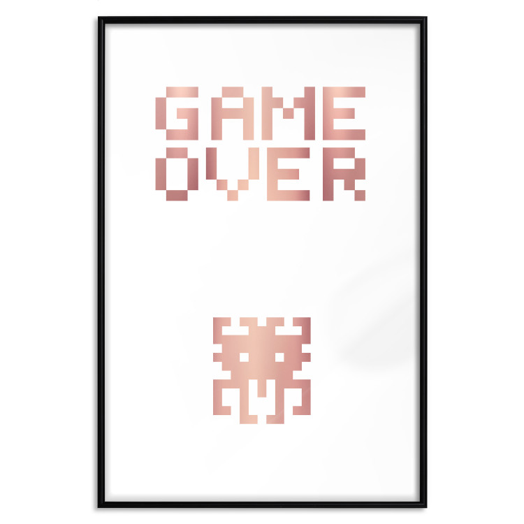 Game over [Deco Poster - Rose Gold]