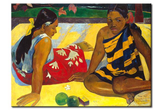 Copie De Tableau Deux Femmes De Tahiti Paul Gauguin Reproductions