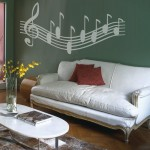 Wall Decal Musica notes 91535 additionalThumb 3