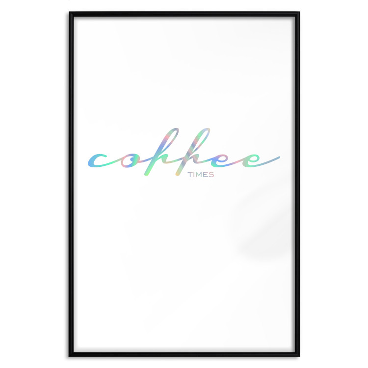 Coffee Times [Deco Poster - Holographic]