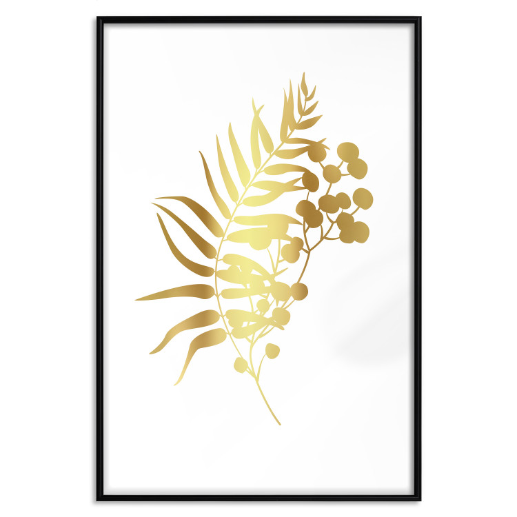 Form of Nature [Deco Poster - Gold]