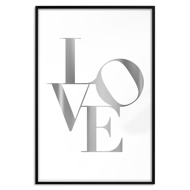 Twisted Love [Deco Poster - Silver]