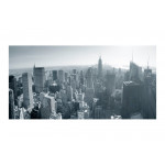 Photo Wallpaper New York City skyline in black and white 61545 additionalThumb 1