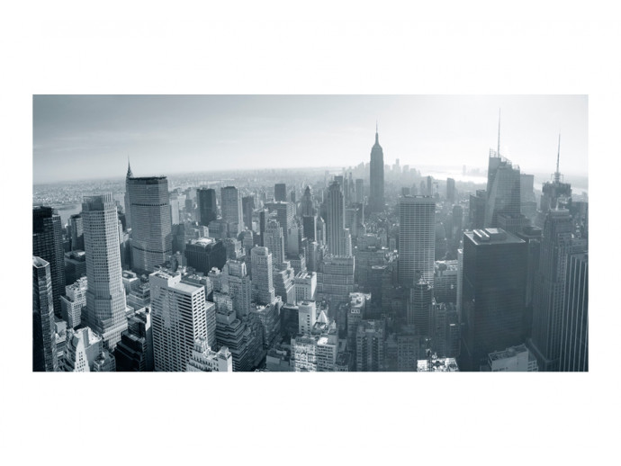 Photo Wallpaper New York City skyline in black and white 61545 additionalImage 1