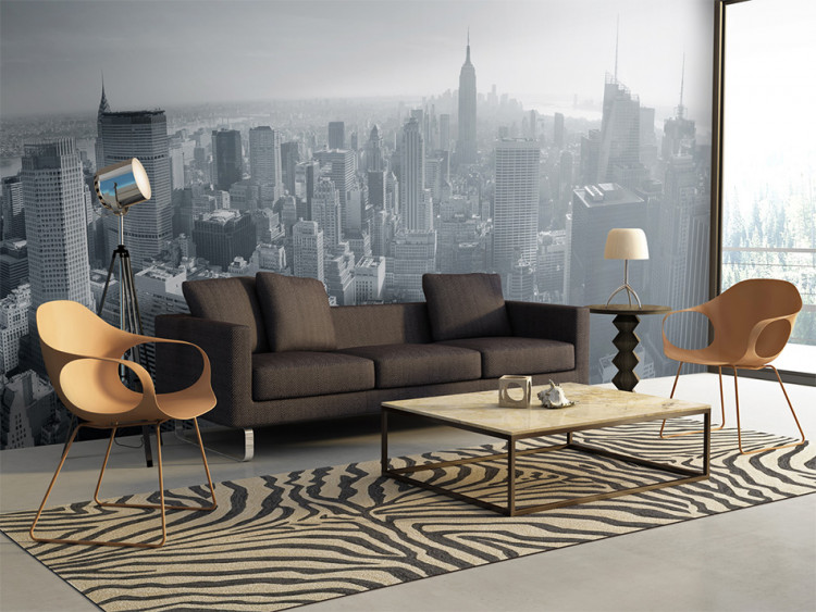 Wall Mural New York City Skyline In Black And White New York Cities And Architecture Wall Murals