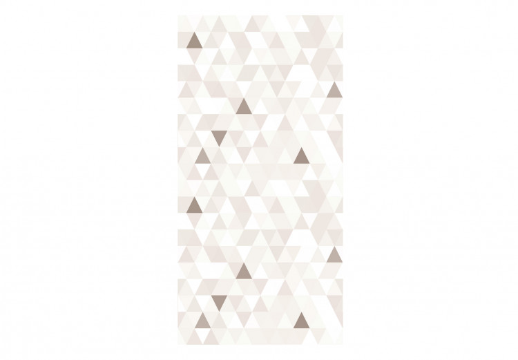 Shimmering Triangles (Beige)