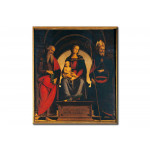 Riproduzione quadro Madonna and Child with St.James and St.Augustine 111085
