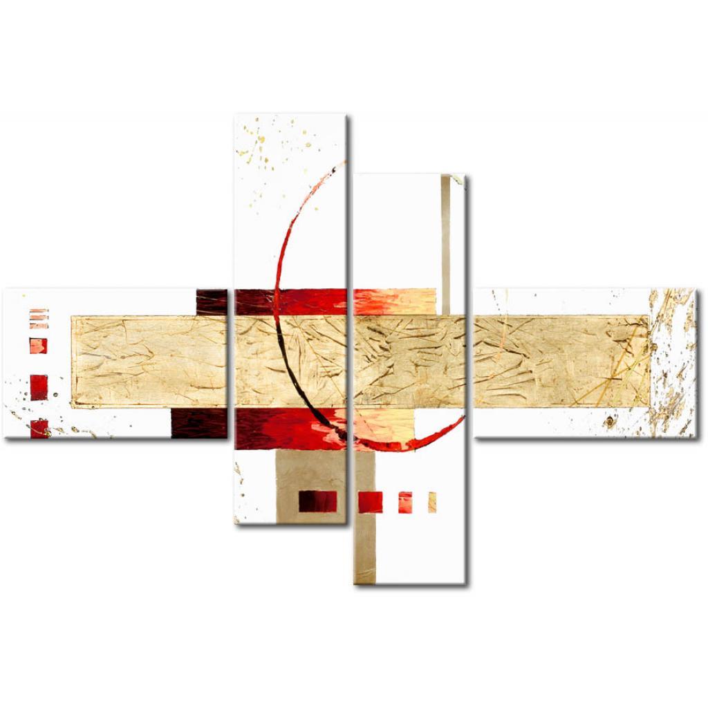 Estructura de arena en la abstracción XXL