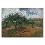 Reproduktion Blossoming Apple Trees 51485
