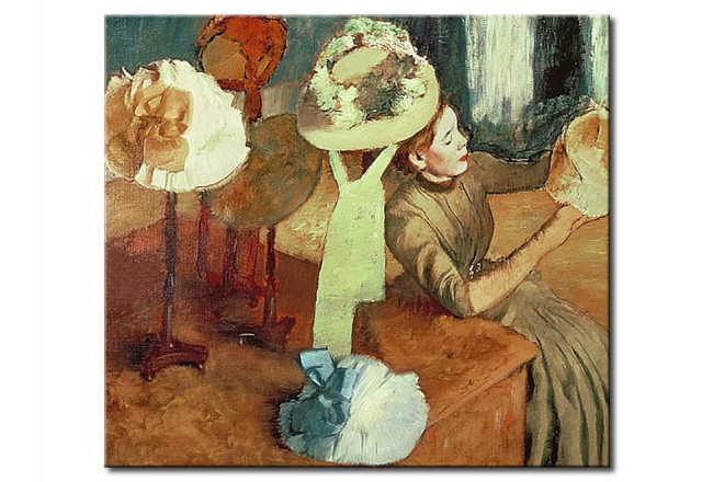 Reproduction Painting The Millinery Shop 50695