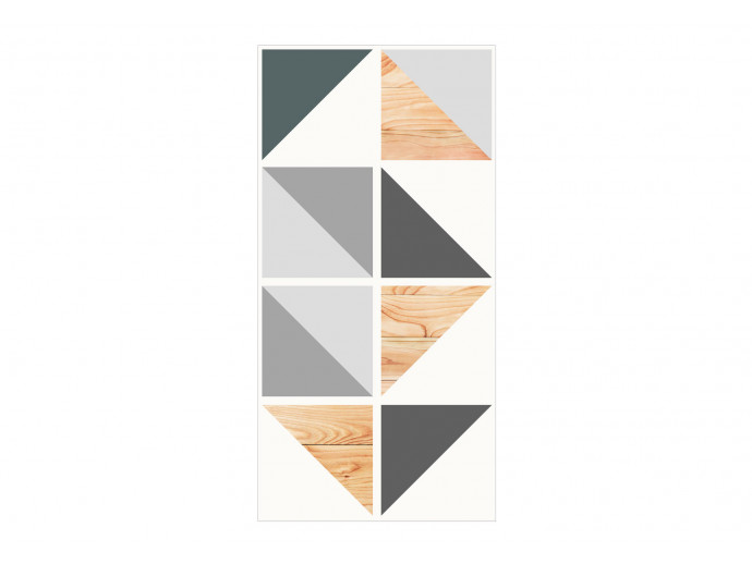 Papel pintado Alliance of Triangles 97995 additionalImage 1