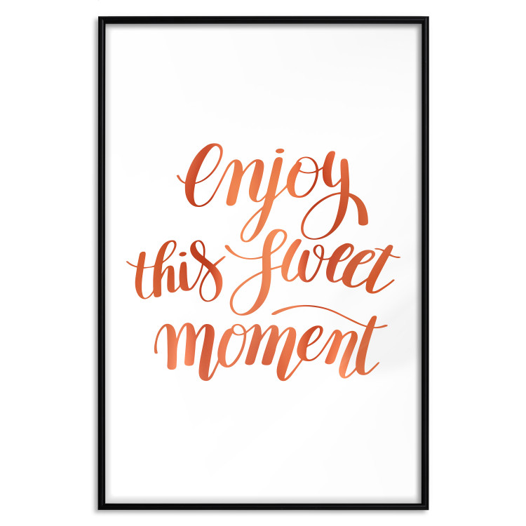 Enjoy This Sweet Moment [Deco Poster - Copper]