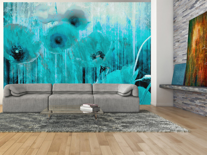 Wall Mural Turquoise madness 60406