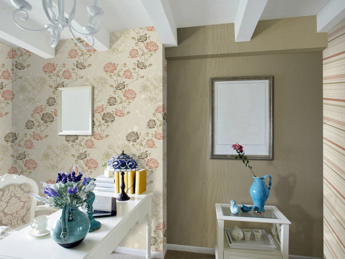Modern Wallpaper Rose garden 89306 additionalImage 3