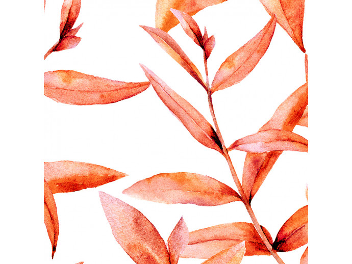 Papel pintado Coral Leaves 117816 additionalImage 2