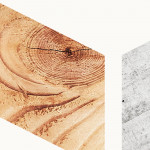 Modern Wallpaper Wood and Concrete 98216 additionalThumb 2