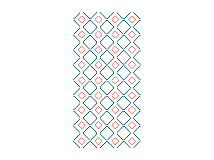 Papel de pared Geometric Embroidery 122336 additionalImage 1
