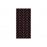Papel de pared Big Harmony of Patterns (Black) 122636 additionalThumb 1